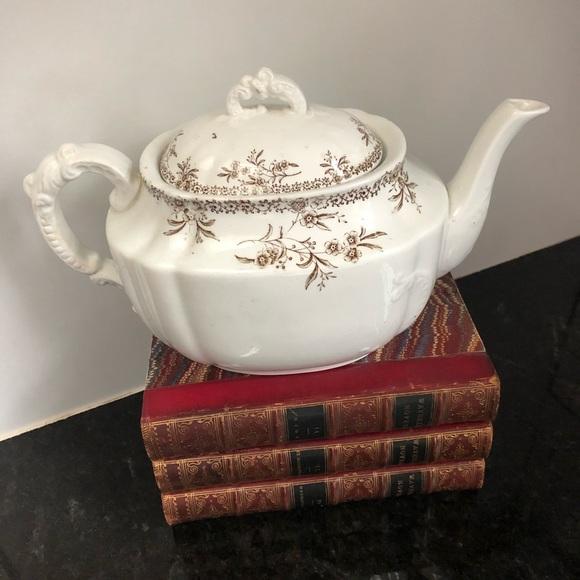 Vintage English Ironstone Teapot